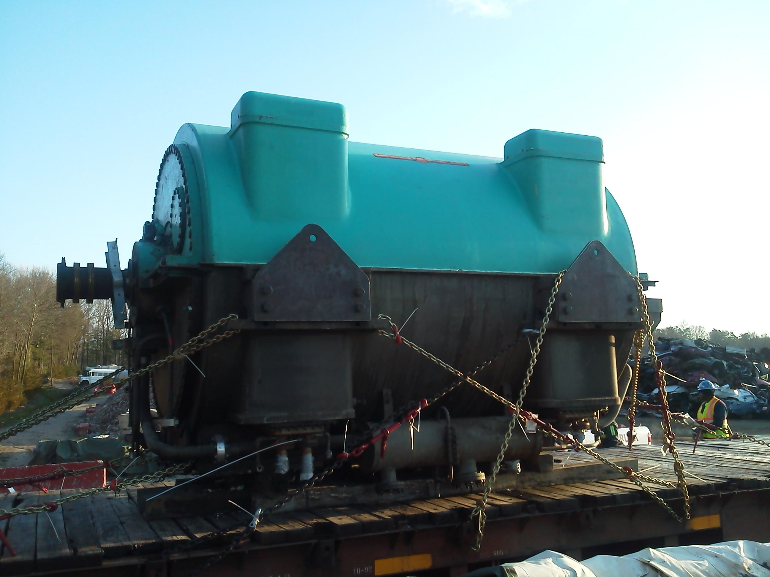 23 000 KW GE Steam Turbine Generator for Sale at Phoenix Equipment