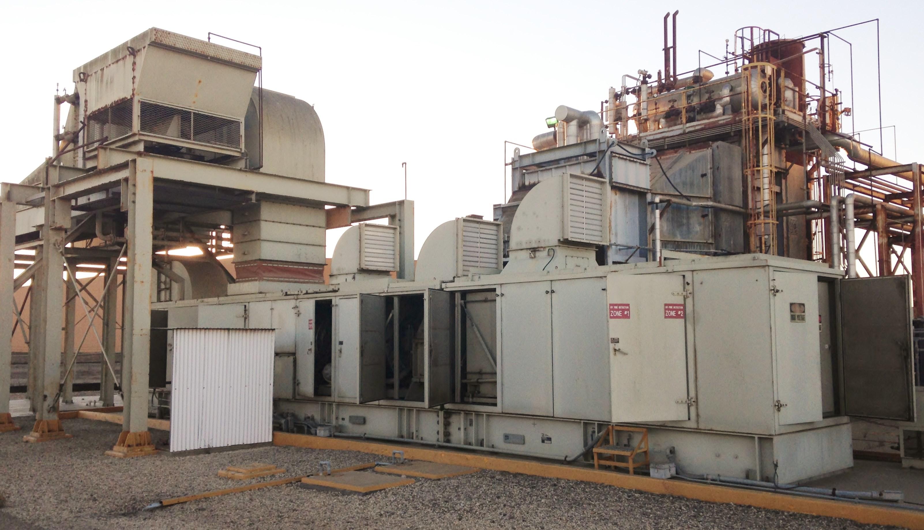 8800 kw solar mars 90 gas turbine generator set 2993