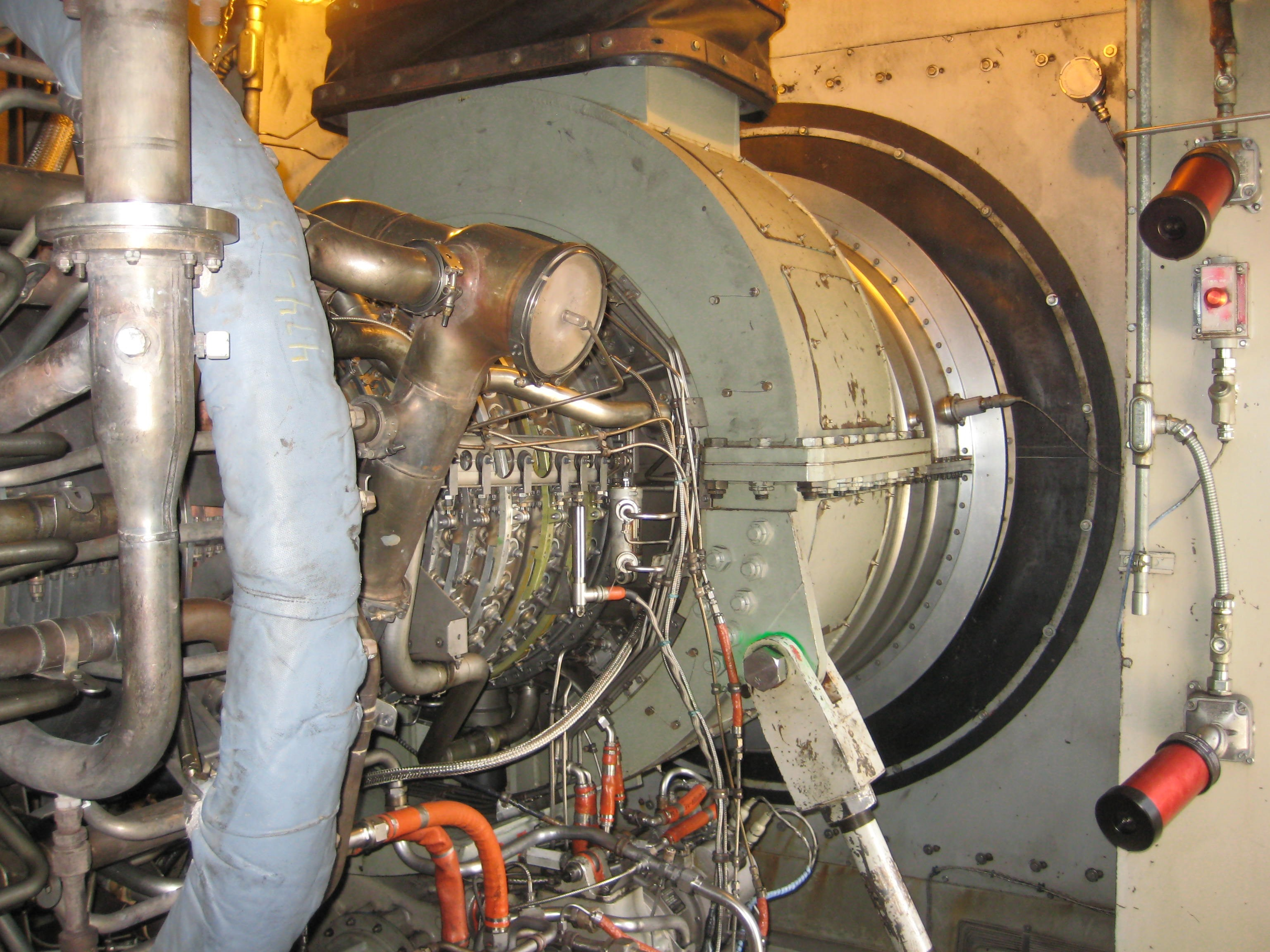 Used Gas Turbine Generator Ge Lm5000 72 Mw For Sale At