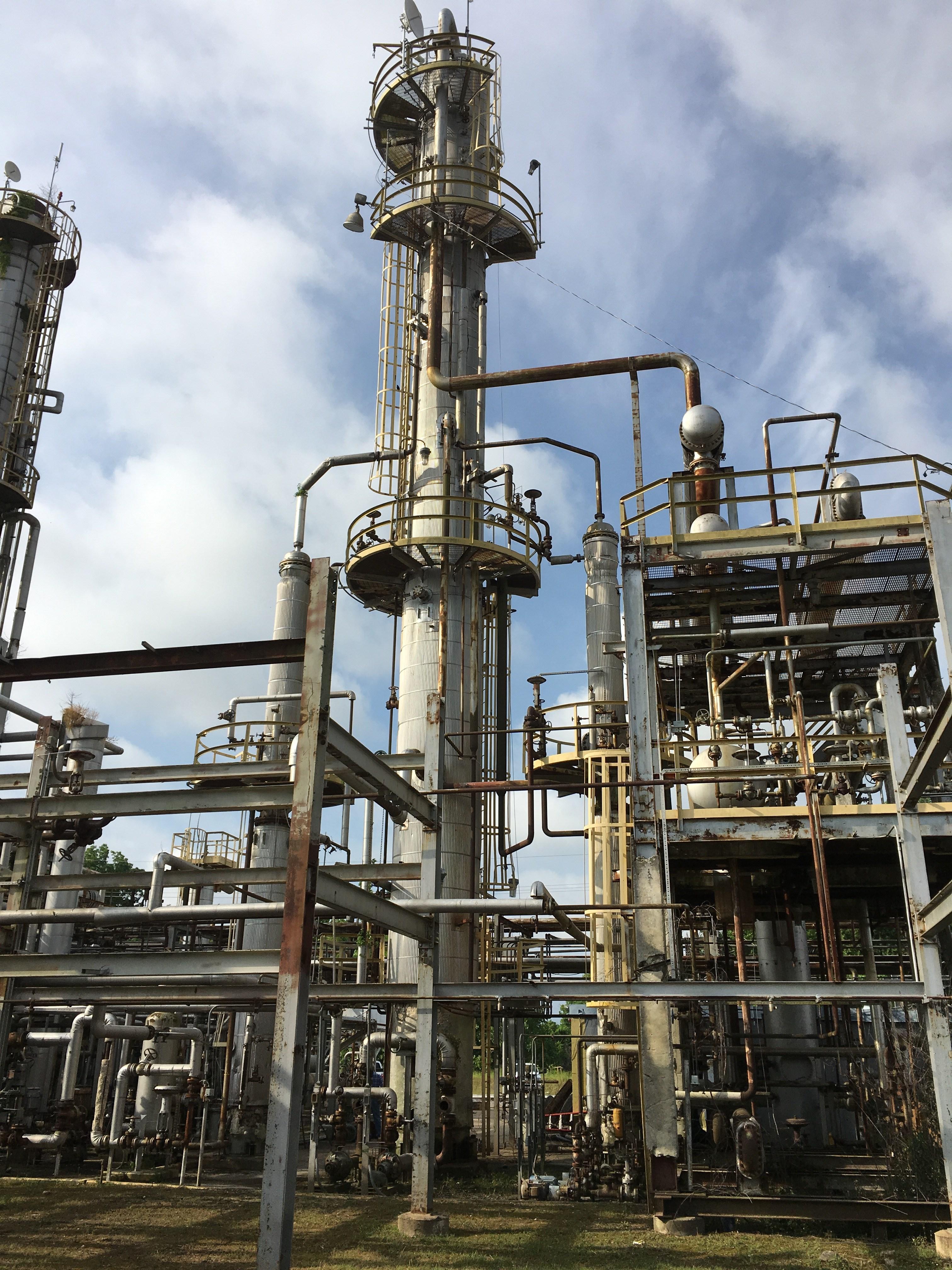 Crude Refining Unit 14 000 Bpd Used Crude Refining Unit