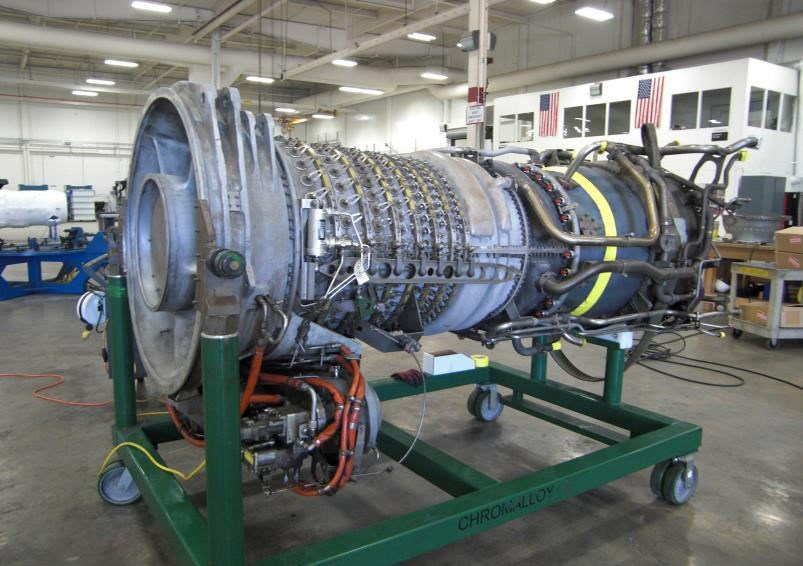 Ge Gas Turbine >> Used Gas Turbine Generator Ge Lm2500pe 22 34 Mw For Sale At