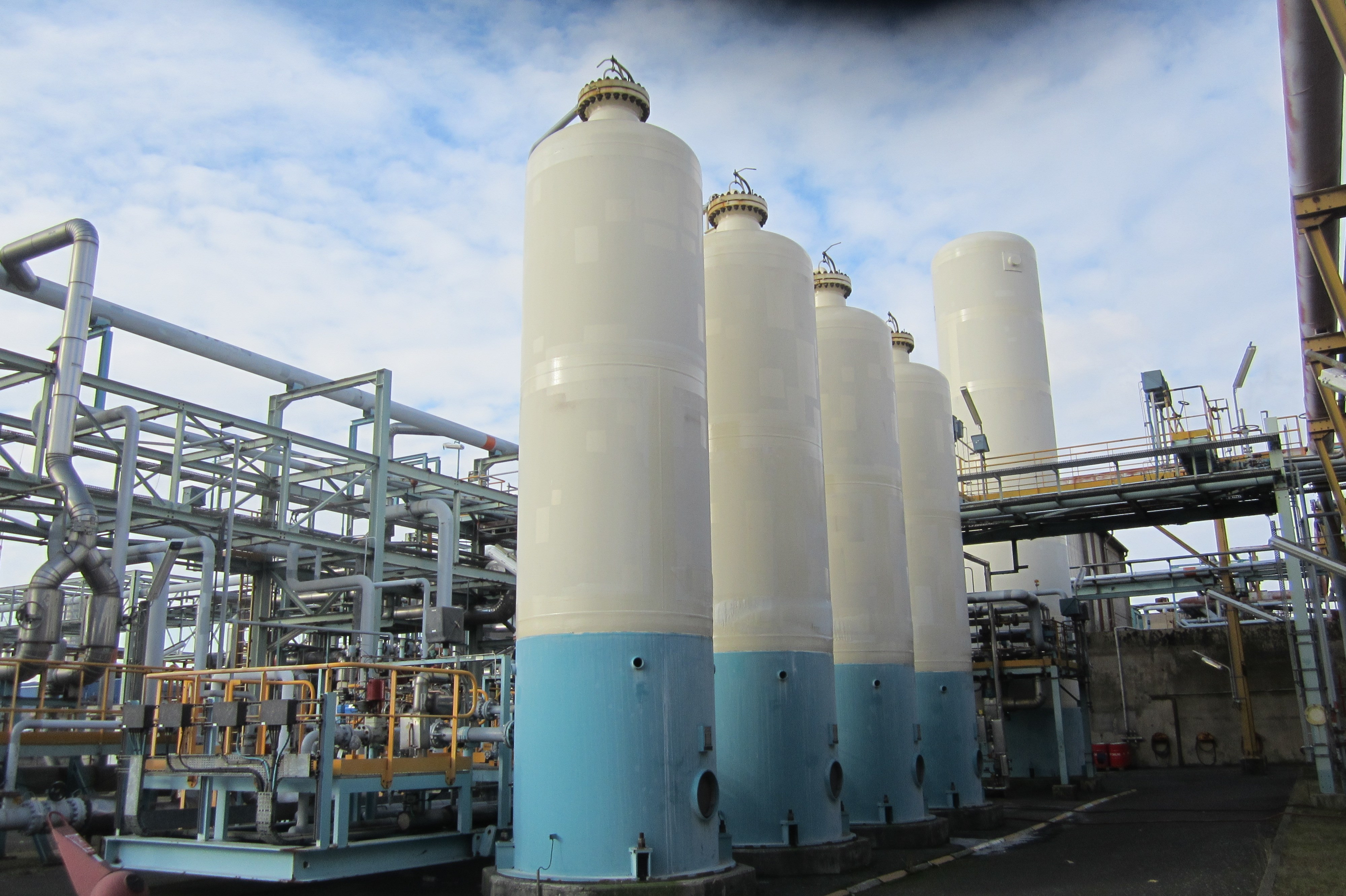 Hydrogen Storage Tank >> Used Hydrogen Purification Plant - 7,200 Nm3/hr for sale ...