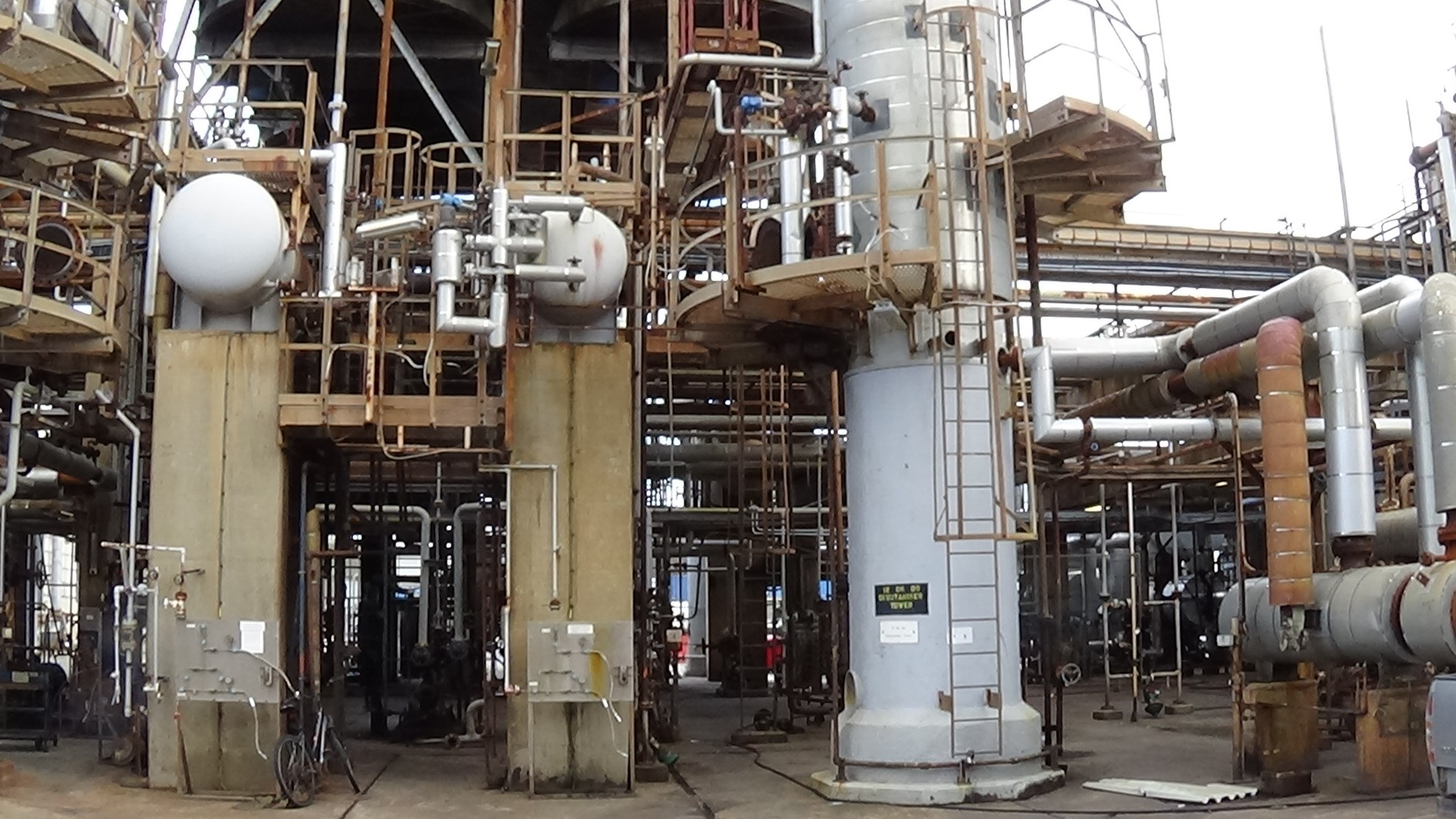 Naphtha Hydrotreating Reforming Unit Ultrafiner