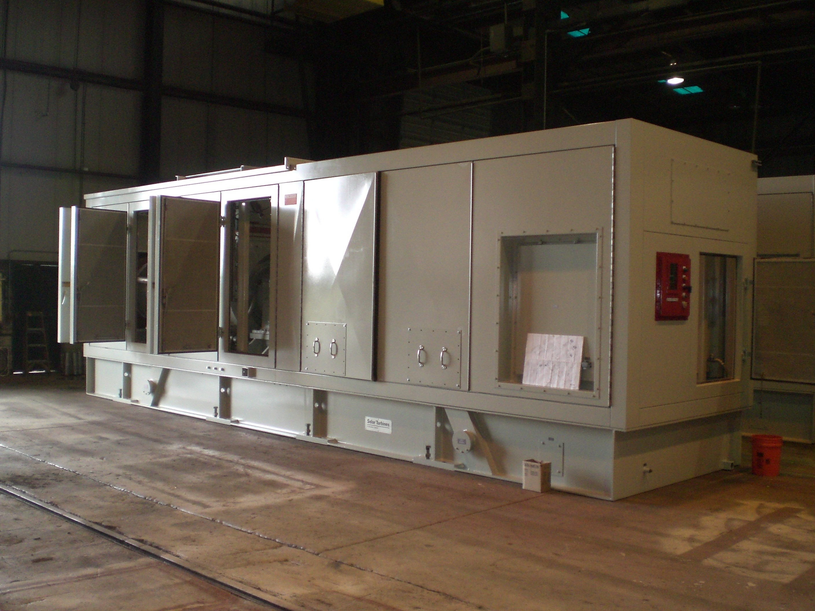 5200 KW Solar Taurus 60 Gas Turbine Generator for Sale at Phoenix