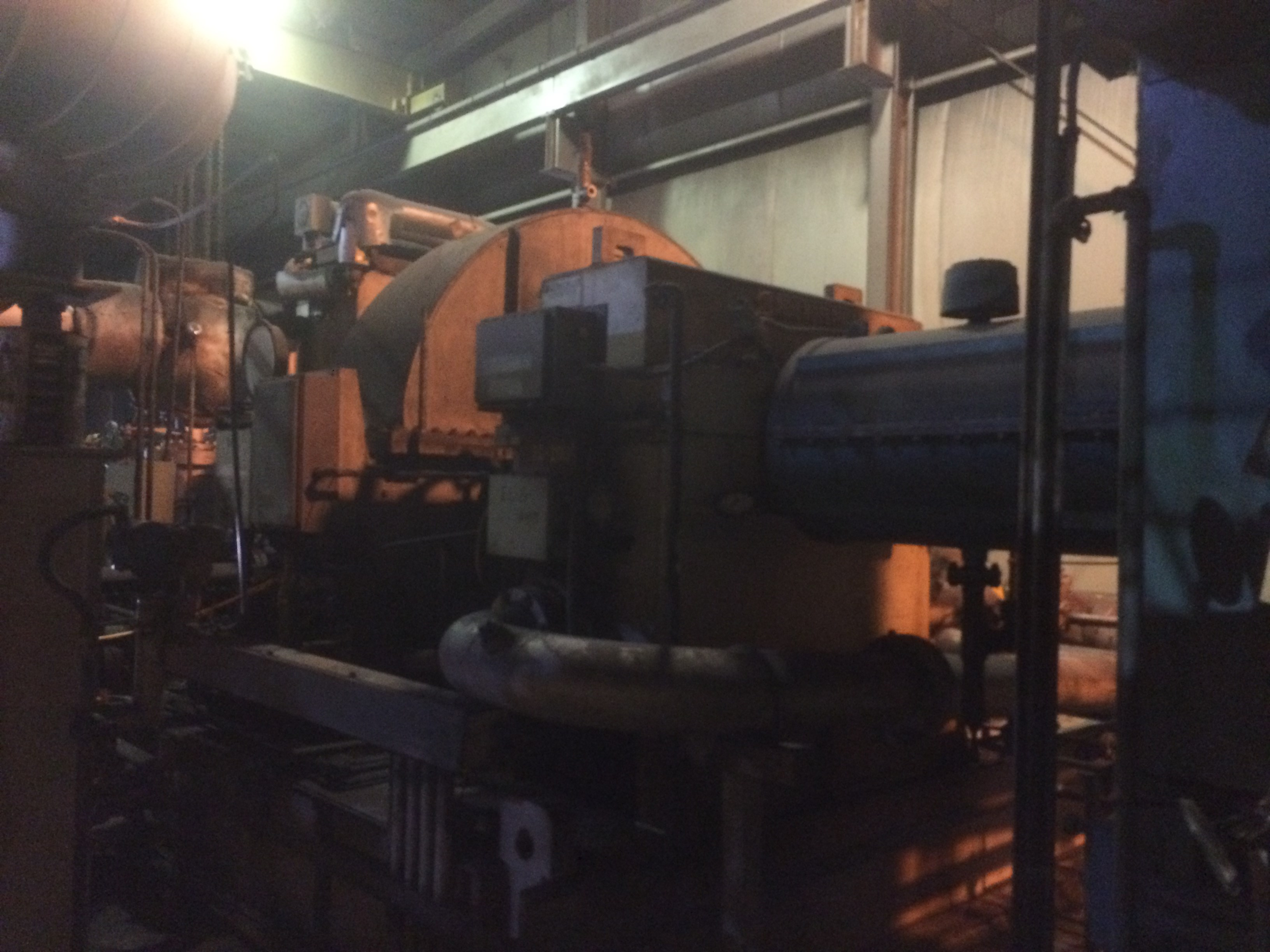Used De Laval Steam Turbine Generator 11 MW for Sale at Phoenix