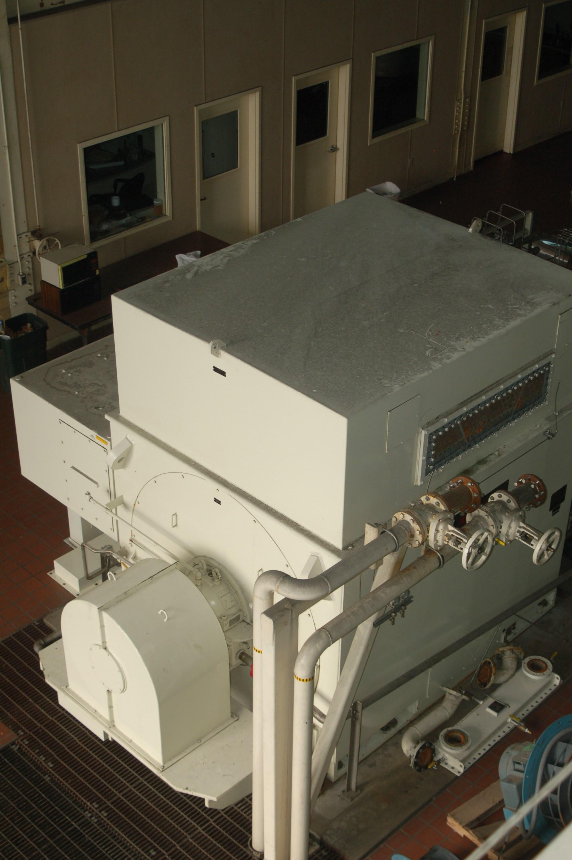 Steam Turbine Generator Dresser Rand 7 Mw