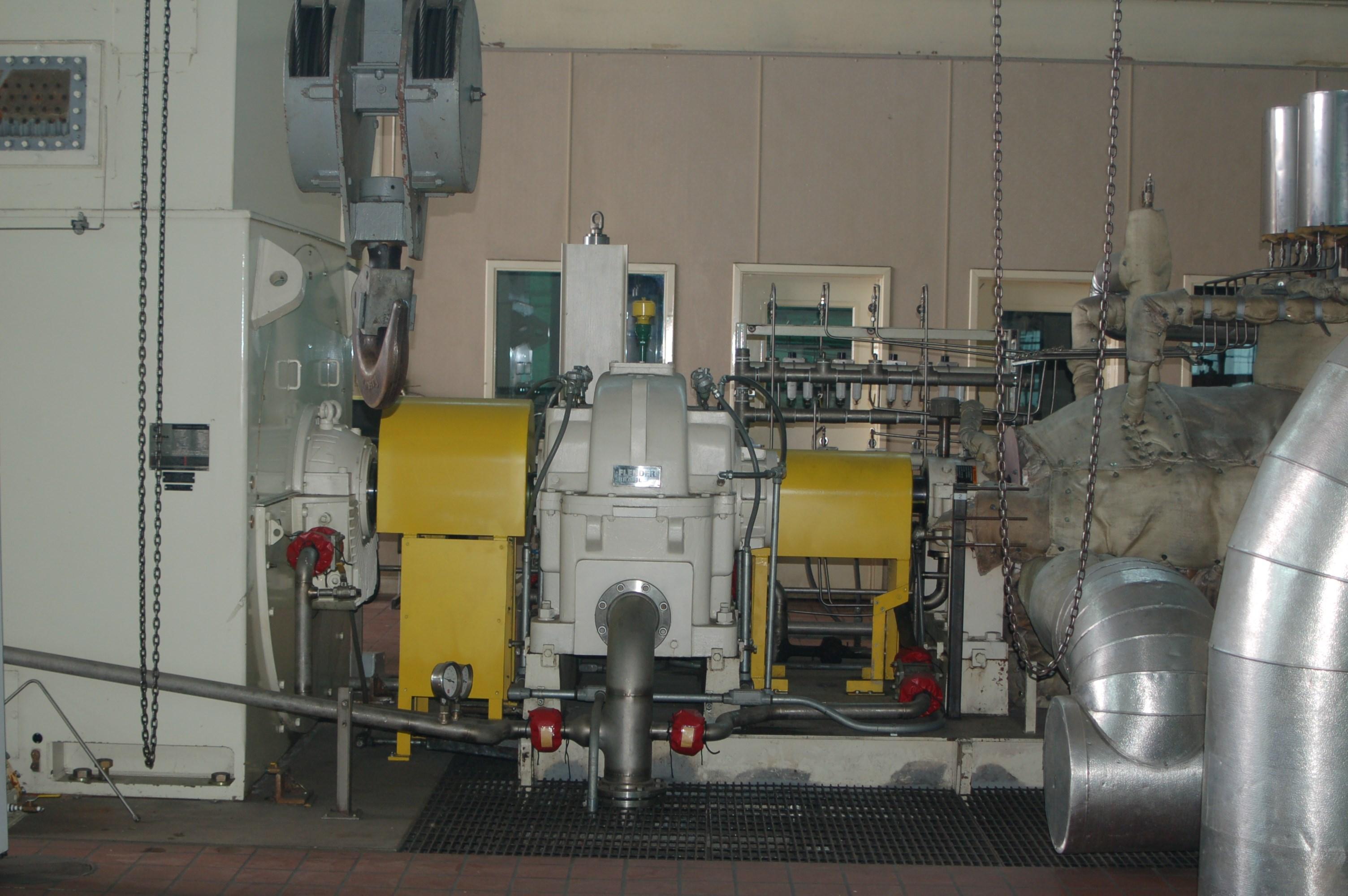 7 Mw Dresser Rand Steam Turbine Generator For At Phoenix
