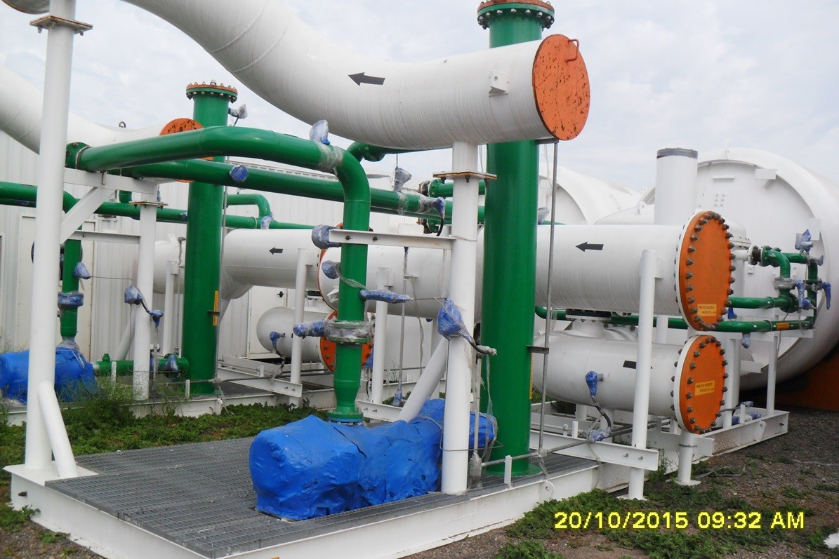 220 tpd vpsa oxygen plant for sale at phoenix equipment for Oxygen plant