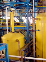 Chemical Process Plant Tank